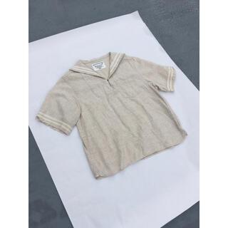 ビームスボーイ(BEAMS BOY)のBEAMS BOY セーラーカラー シャツ(シャツ/ブラウス(半袖/袖なし))