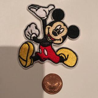 ディズニー(Disney)のアイロンワッペン 刺繍 ミッキー ディズニー(ファッション雑貨)