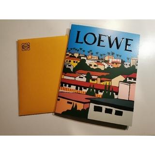 ロエベ(LOEWE)のLOEWE  ロエベ 飛び出る ポストカード 非売品(ノベルティグッズ)