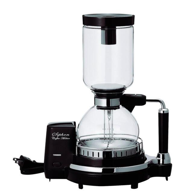 TWINBIRD(ツインバード)のツインバード 電気コーヒーメーカー スマホ/家電/カメラの調理家電(コーヒーメーカー)の商品写真