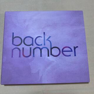 BACK NUMBER - back number DVD シャンデリア(初回限定盤A)