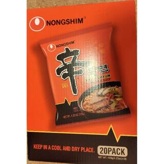 コストコ(コストコ)のコストコ 辛ラーメン 韓国 唐辛子麺 10袋 インスタントラーメン(麺類)