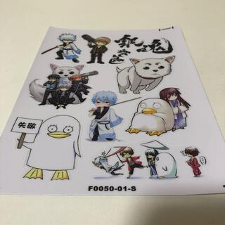 A5サイズ3枚 上質プラスチック製防水ステッカーシール 銀魂 エリザベス 銀時 (ゲームキャラクター)