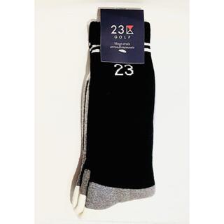23区 - 新品 23区GOLF  メンズ ゴルフ レギュラーソックス 靴下