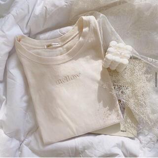 フーズフーチコ(who's who Chico)のmellowneon ラテTシャツ メロウネオン(Tシャツ(半袖/袖なし))
