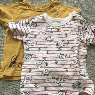 スヌーピー(SNOOPY)のSNOOPY Tシャツ2枚(Tシャツ)