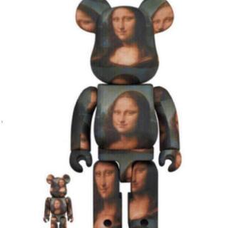 メディコムトイ(MEDICOM TOY)のBE@RBRICK Mona Lisa 100% 400%  モナリザ (その他)