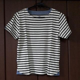 ラフ(rough)の【試着のみ】 rough ボーダーTシャツ(Tシャツ(半袖/袖なし))