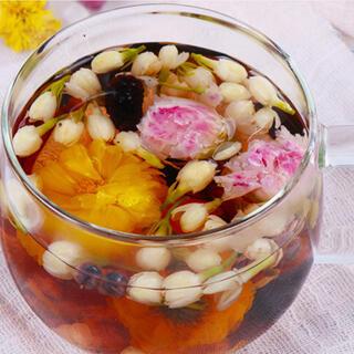 ローズジャスミンティー健康薬膳茶 ハーブティー 漢方茶 花茶 美容茶 中国茶(健康茶)