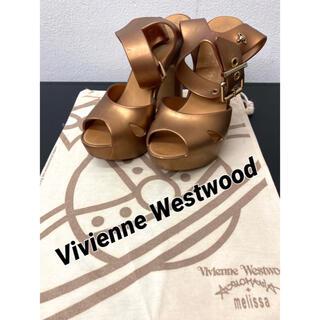 ヴィヴィアンウエストウッド(Vivienne Westwood)のヴィヴィアンウエストウッド アングロマニア ×メリッサ サンダル(サンダル)