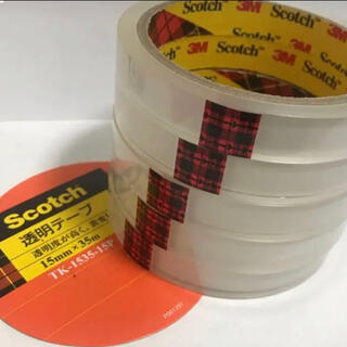 コストコ(コストコ)の3M スコッチ 透明テープ (セロテープ)(テープ/マスキングテープ)