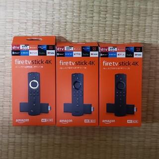 パナソニック(Panasonic)の新品未使用Amazon fire tv stick 4K(映像用ケーブル)