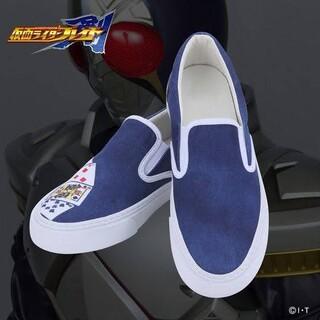 バンダイ(BANDAI)の平成仮面ライダー スリッポンスニーカー 25.0-25.5cm 剣 ブレイド(スニーカー)