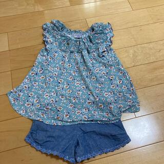 アナスイ(ANNA SUI)のアナスイ トップスと半パンセット 110(Tシャツ/カットソー)