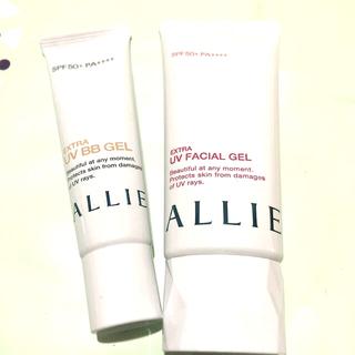 アリィー(ALLIE)の《未使用》アリィー UV 2点セット(日焼け止め/サンオイル)