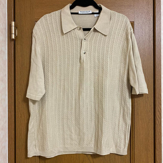 GIVENCHY - vintage givenchy beige polo shirt