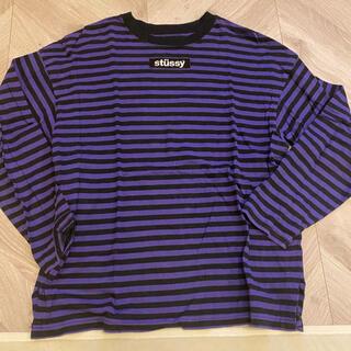 ステューシー(STUSSY)のstussy ボーダーロンT(Tシャツ(長袖/七分))