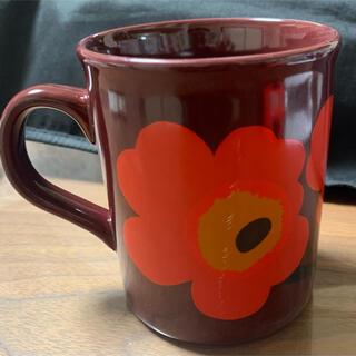 マリメッコ(marimekko)のマリメッコ ウニッコ マグカップ  Made in England、ヴィンテージ(グラス/カップ)