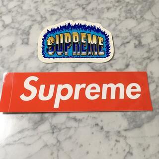 シュプリーム(Supreme)のシュプリーム ステッカー2枚(ノベルティグッズ)