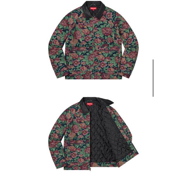 Supreme(シュプリーム)のSupreme Leather Collar Work Jacket 最終価格 メンズのジャケット/アウター(レザージャケット)の商品写真