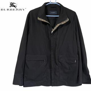 バーバリー(BURBERRY)のバーバリーロンドン ブルゾン ジャケット ノバチェク ブラック Mサイズ(ブルゾン)