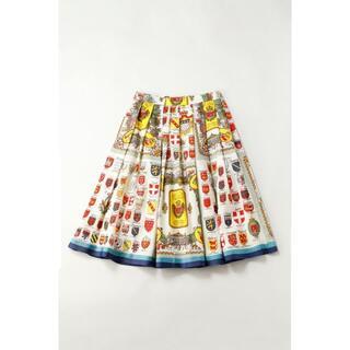 ジェーンマープル(JaneMarple)の未使用 Jane Marple Bon dimancheのタックスカート(ひざ丈スカート)
