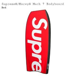 シュプリーム(Supreme)のSupreme Morey Mach 7 Bodyboard red レッド 赤(サーフィン)