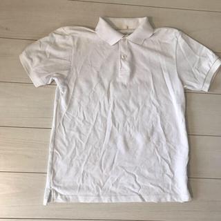 ポロシャツ 白 無地 UNIQLO