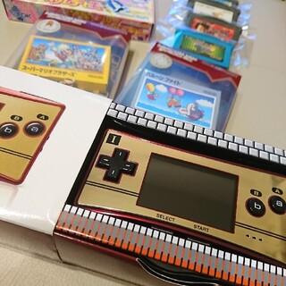ニンテンドウ(任天堂)の任天堂  ゲームボーイミクロ  本体  ソフト8本付き(携帯用ゲーム機本体)