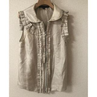 マークバイマークジェイコブス(MARC BY MARC JACOBS)のマークバイ   ノースリーブ  (シャツ/ブラウス(半袖/袖なし))
