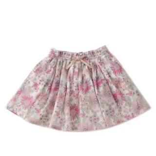 プティマイン(petit main)のスカート プティ 新品タグ付き 花柄(スカート)