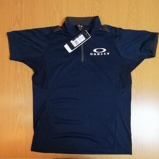 オークリー(Oakley)の【定価4290円 オークリー 434195JP】(S 紺) ENHANCE SS(ポロシャツ)