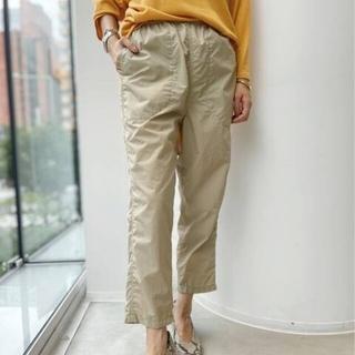 アパルトモンドゥーズィエムクラス(L'Appartement DEUXIEME CLASSE)の値下!アパルトモン Americana/アメリカーナ Nylon Pants新品(クロップドパンツ)