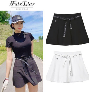 【Fair Liar】韓国人気ブランド フェアライアー スカート レディース(ひざ丈スカート)