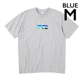Supreme Emilio Pucci Box logo tee ブルー(Tシャツ/カットソー(半袖/袖なし))