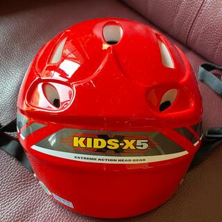 オージーケー(OGK)のキッズヘルメット 子供用OGK 赤 54〜56(ヘルメット/シールド)