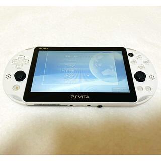 PlayStation Vita - PSVita PCH-2000 ZA22  本体 グレイシャーホワイト