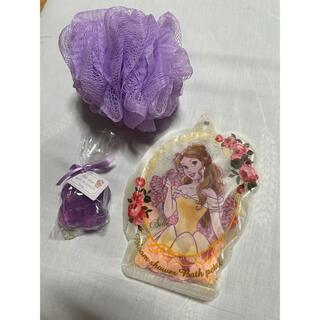 ディズニー(Disney)のラプンツェル ベル バスセット 入浴剤 泡立てネット 石鹸(入浴剤/バスソルト)