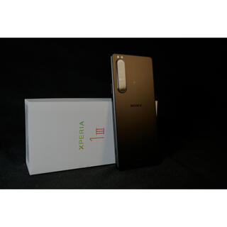SONY - 超美品ソニー最新 SONY Xperia1  III  simフリー 256GB