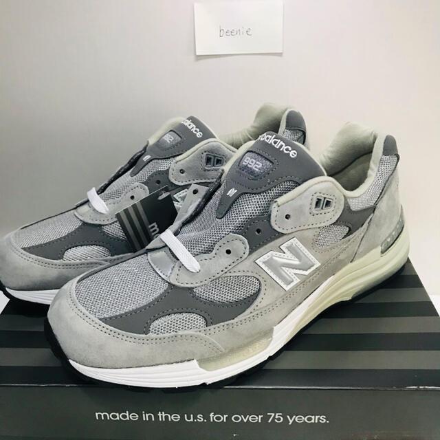 New Balance 992 Grey M992GR 28cm メンズの靴/シューズ(スニーカー)の商品写真