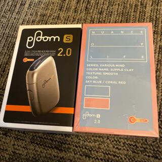 プルームテック(PloomTECH)のJTプルームs復刻版!クラシックゴールド&サプルクレイスターターキット2箱セット(タバコグッズ)