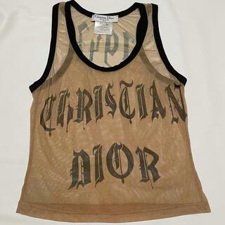 Christian Dior - ディオールDior メッシュ タンクトップ #38