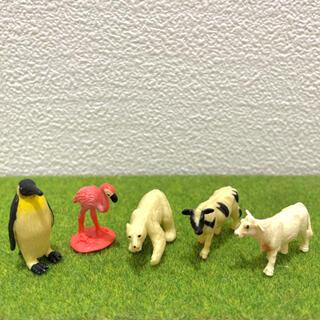 フランフラン(Francfranc)のミニチュア 動物 フィギュア 人形 植木鉢 盆栽 観葉植物(置物)