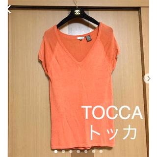 トッカ(TOCCA)の【TOCCA】トッカ ニットソー(カットソー(半袖/袖なし))