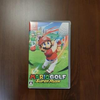 ニンテンドースイッチ(Nintendo Switch)のマリオゴルフ スーパーラッシュ Switch(家庭用ゲームソフト)