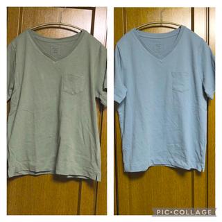 グローバルワーク(GLOBAL WORK)のアメリカンホリック Tシャツ2枚セットL(Tシャツ(半袖/袖なし))