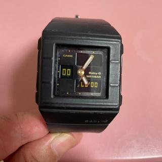 ベビージー(Baby-G)の電池交換済 可動中 カシオ ベビーG 黒 腕時計 5134 防水(腕時計)