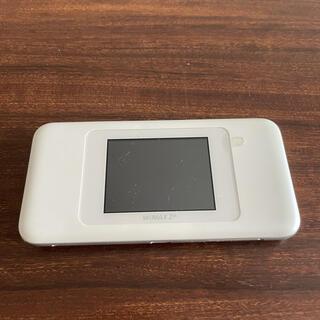 HUAWEI - HUAWEI Speed Wi-Fi NEXT W06 ホワイトxシルバー