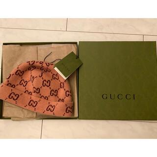 Gucci - 正規☆グッチ新品同様ニット帽kids L