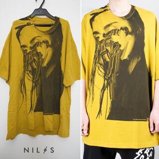 NILoS×Jesse Draxler プリント Tシャツ  1 カットソー